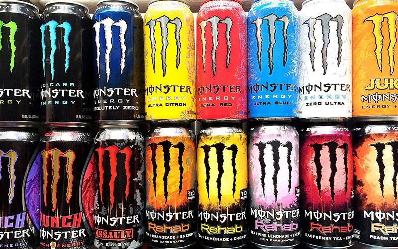 Monster Rehab Energy Drink Caffeine Content